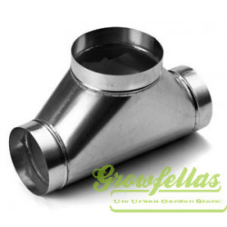 Broekstuk Aluminium variabel diameter