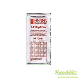 Hanna | Ijkvloeistof | EC 1.413 | 25 Zakken P/doos