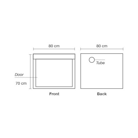 Homebox Ambient r80s 80x60x70cm