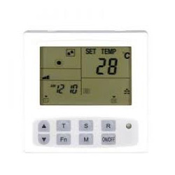 CO2 monitor met luchtvochtigheids (RH) en temperatuursensor