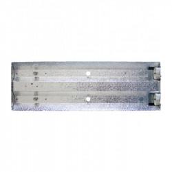 CFL-Armatuur 80 W 60x20x5 cm excl. 2 TL-lampen