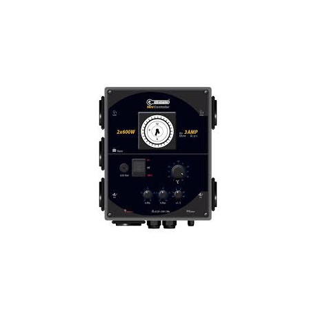 Cli-mate mini controller 3 A 2 aansluitingen max. 1,2 kW