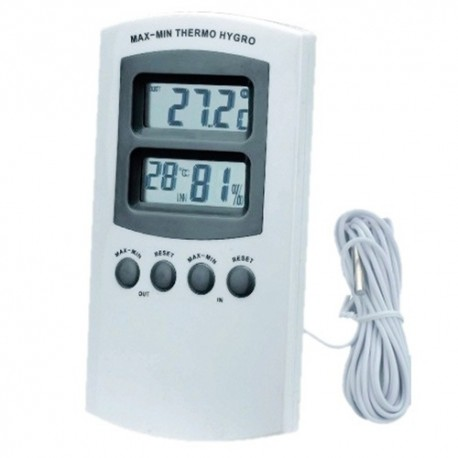 Thermo/ Hygro meter zonder sensor
