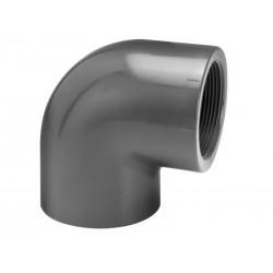 PVC Knie | 32 x 1 | Binnendraad