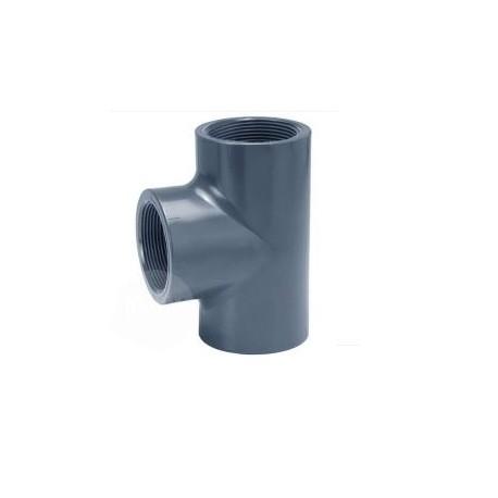 PVC T-Stuk | 32 x 1 | Binnendraad