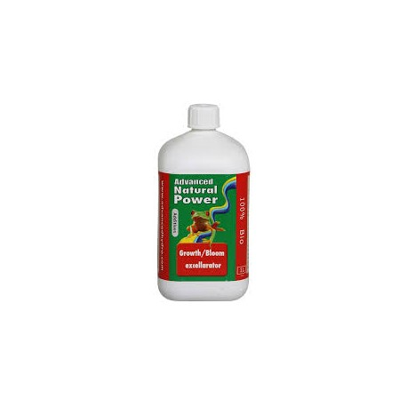 Advanced Hydroponics   Natural Power   Growth Bloom Excellerator