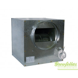 S-vent acoustic metal box fan