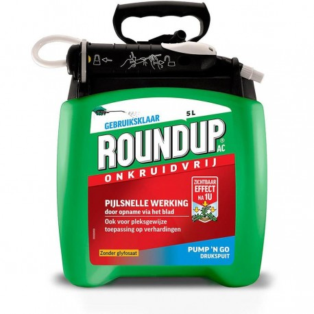 Roundup RTU Kant & Klaar 5L