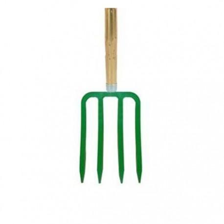 polet spitvork 4 tand groen
