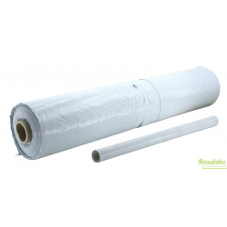 Roll black/white foil, 2x25mtr, thickness 70 mu